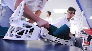 UA Engineering Design Day Exoskeleton
