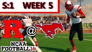 NCAA Football 14 | Dynasty | S:1 | Week 5 @ SMU