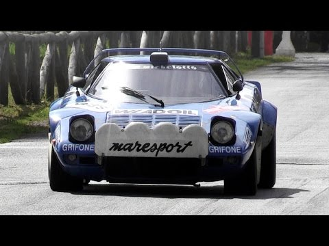 Lancia Stratos HF Group 4 Loud V6 Sound