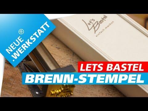 Gut bekannt Let's Bastel Brennstempel /// Kleine Holz Kiste selber bauen LS27