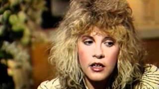 Stevie Nicks - ROCK A LITTLE Interview Part 3 of 3 (5.11.85)
