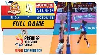 PVL OC 2018: Iriga-Navy vs. Ateneo-Motolite   Full Game   1st Set   November 4, 2018