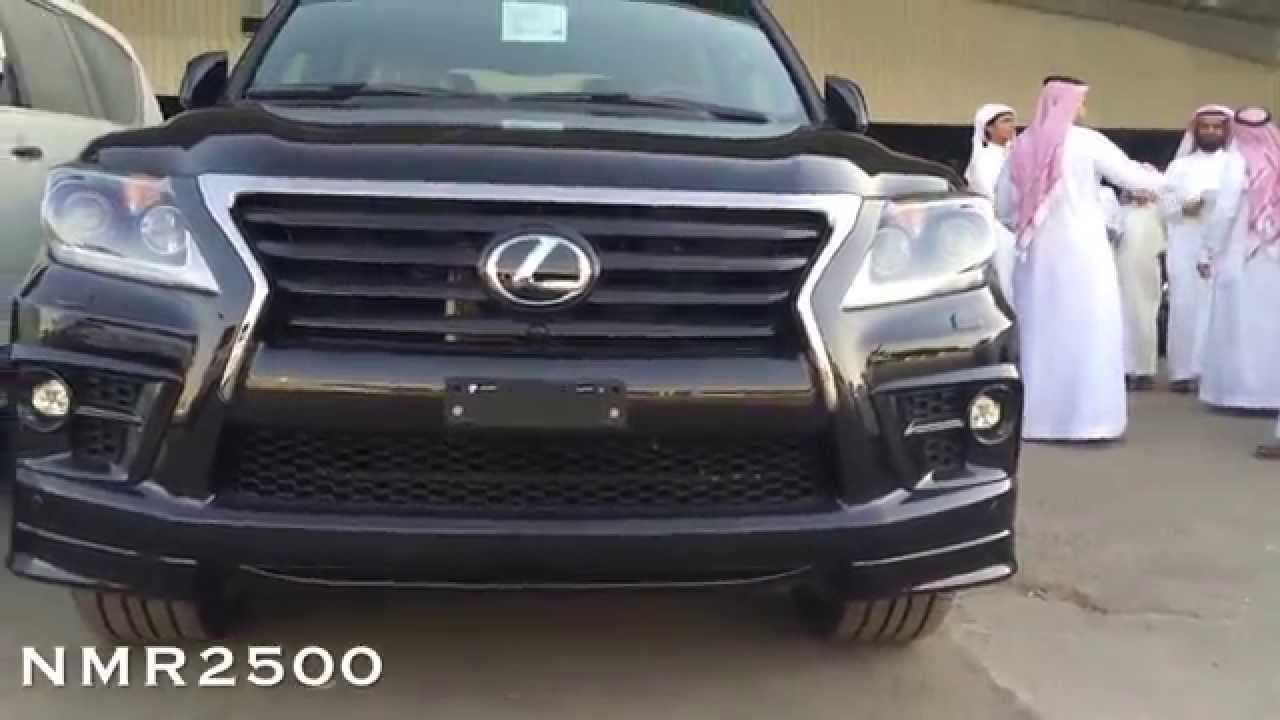 اسعار لكزس سوبر الجزء 3 شارج بريمي اسود 2014 نزل السعر ٧٠٠ الف Lexus Lx 570 Sport Supercharged Youtube