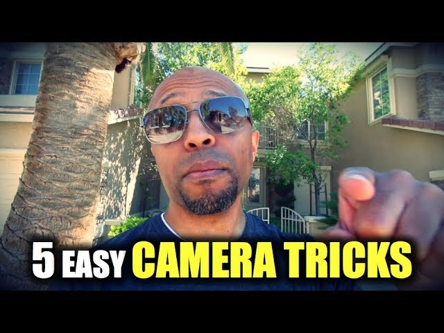5 Easy Video Transitions Your Camera Can Do NOW