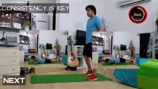 TABATA MONDAY/FULL LENGTH, INTERMEDIATE,HIGH INTENSITY/18min workout/DDX