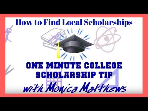 How To Find More Local College Scholarships from the