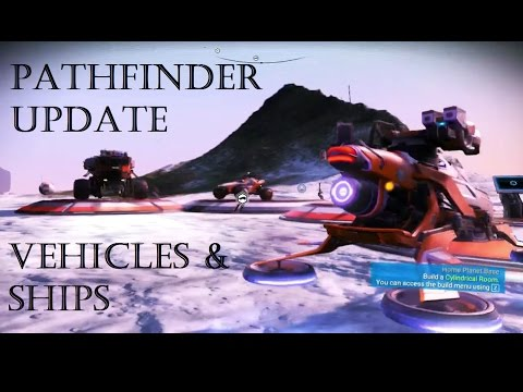 NMS - How To Get Ground Vehicles & Multiple ships Pathfinder Update