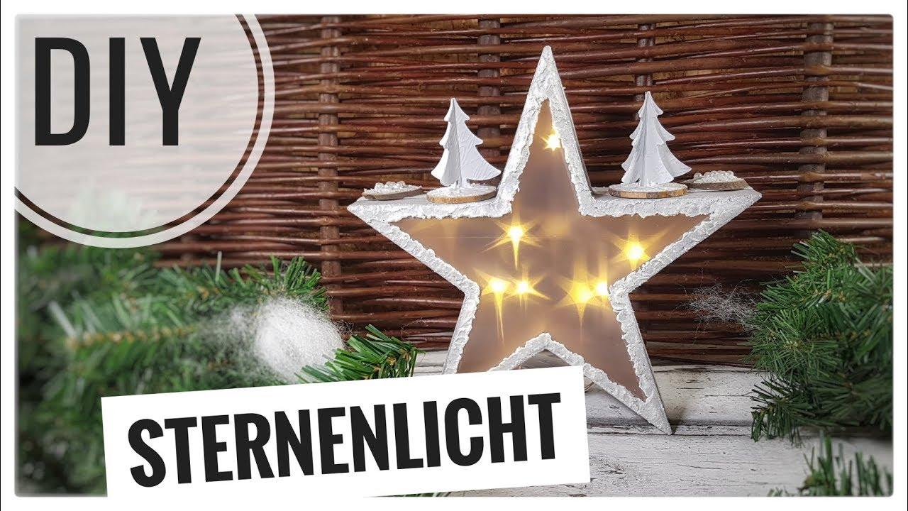 Led Lampen Weihnachtsdeko.Sternenlicht Lampe Licht Einfach Basteln Diy Für Eine Schöne Weihnachtsdeko Tutorial Deutsch