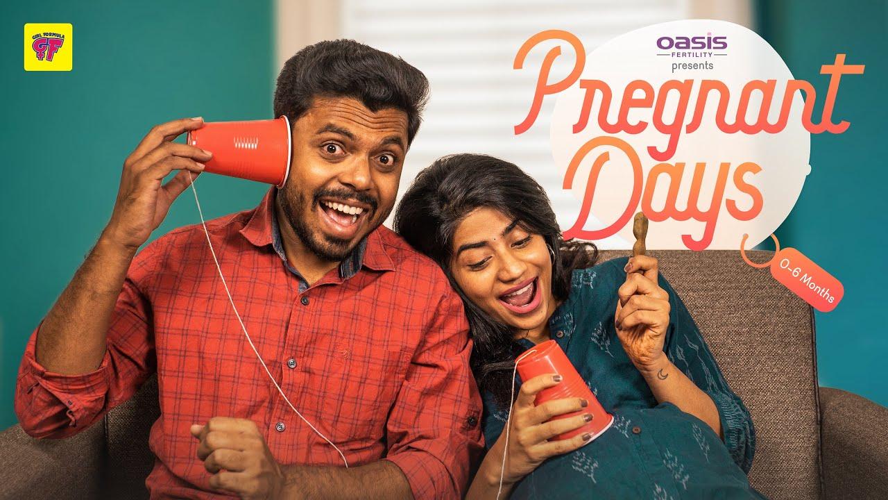 Pregnant Days: 0-6 Months |Ft. @Kiraak Style Abhignya, @Krazy Khanna | Girl Formula | Chai Bisket