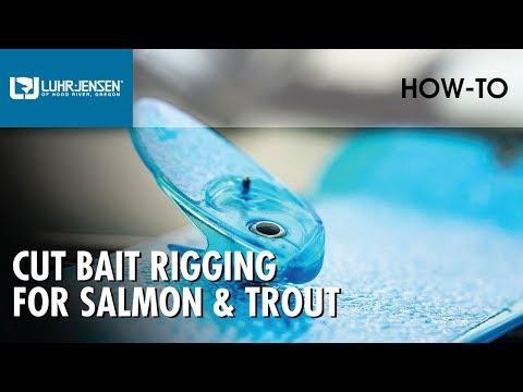 Luhr Jensen Cut Bait Rigging For Salmon & Trout | Luhr Jensen Fishing Tips