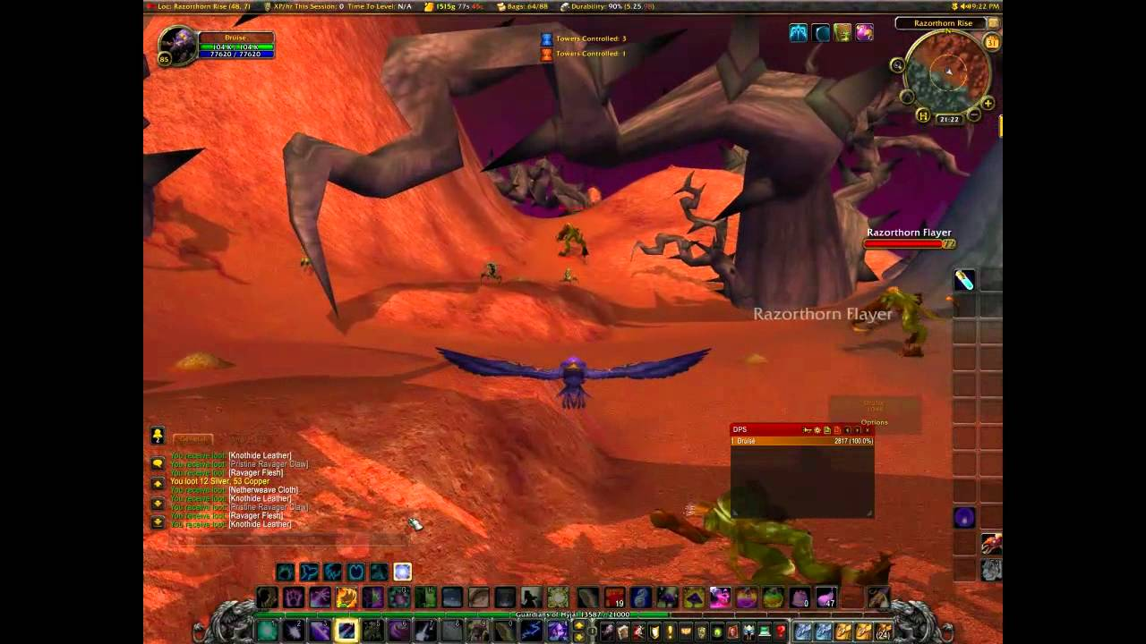 Knothide Leather Farming Spot (Work In Cataclysm 4.3)