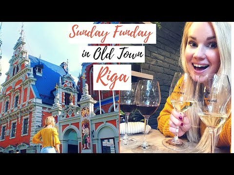 Bars & Cafes in Old Town Riga, Latvia | Travel Guide & Vlog