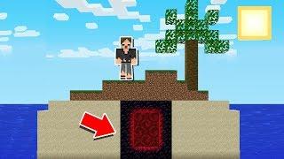 Minecraft: ACHEI UM SEGREDO BIZARRO NA ILHA DESERTA!!!