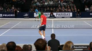 Novak Djokovic vs Marin Cilic QF Highlights PARIS 2016