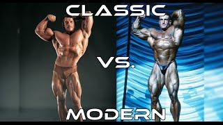 Classic Bodybuilding Vs. Modern Bodybuilding