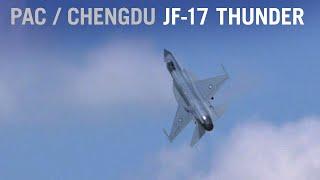 PAC/Chengdu JF-17 Thunder Displays Maneuvers at Paris Air Show (Display 2) – AINtv