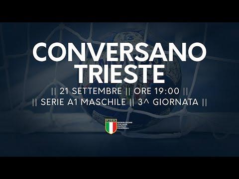 Serie A1M [3^]: Conversano - Trieste 34-28