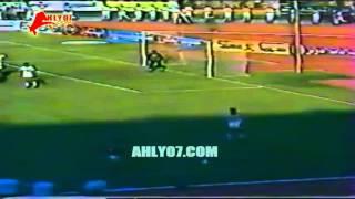 هدفا فوز الأهلي 2 مقابل 1 الزمالك لأيمن شوقي  الأسبوع 22 للدوري 22 إبريل 1987