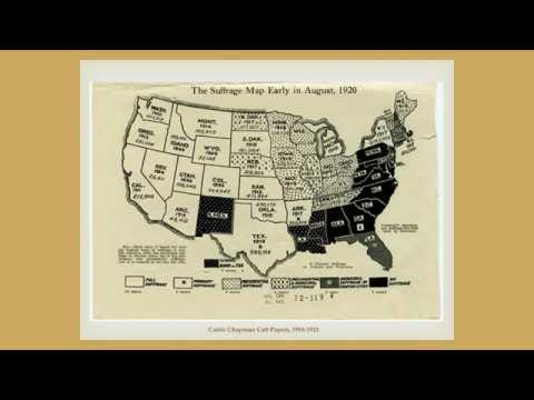 Library and Archives Workshop: Women's Suffrage Movement