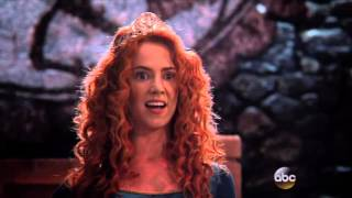 OUAT - 5x09 'Presenting, Queen Merida!' [Merida & Witch]
