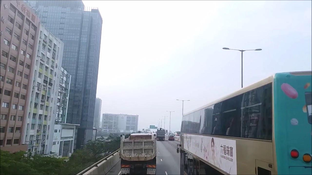 九巴 302 金碧樓往舊灣仔警署 (LF3790) - YouTube