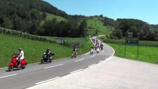 Vespa Party 2015 Route 69 Ausfahrt