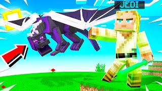 Playing MINECRAFT With LIGHTSABERS and FORCE POWERS!