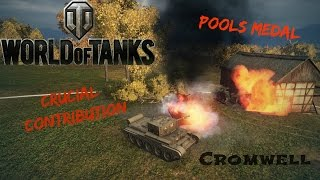 Cromwell Pools Medal & Crucial Contribution  - Tank Heroes - World of Tanks