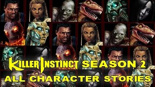 Killer Instinct - All Character Stories/Endings - Season 2