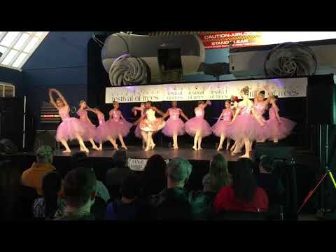 Leggz Ltd. Performs at the Festival Of Trees at the Cradle Of Aviation