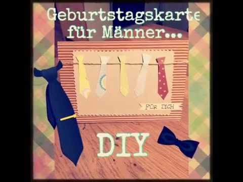diy geburtstagskarte f r m nner gl ckwunschkarte diy. Black Bedroom Furniture Sets. Home Design Ideas