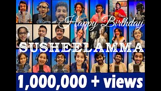 acapella-tribute-to-p-susheela-amma-by-21-singers---shweta-mohan-and-friends