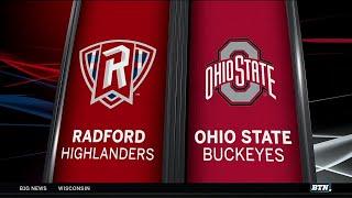 Radford at Ohio State - Men's Basketball Highlights