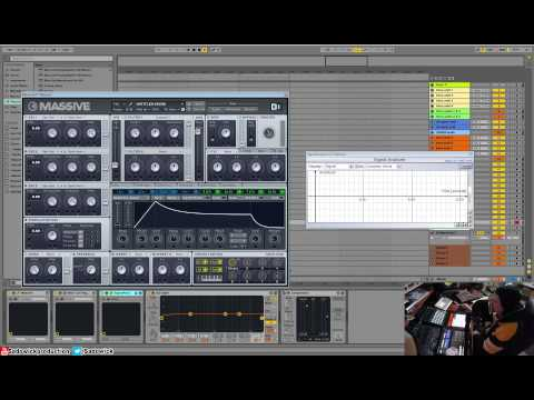 Native Instruments Massive Tutorial 02 - Sections & Signal Flow