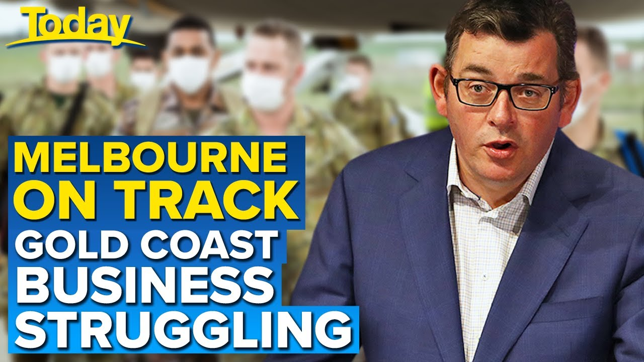 Coronavirus: Melbourne on track with roadmap out, GC businesses struggle | Today Show Australia