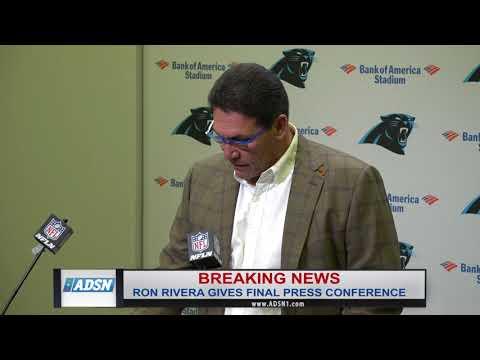 Ron Rivera delivers emotion filled press conference, expresses memories, gratitude