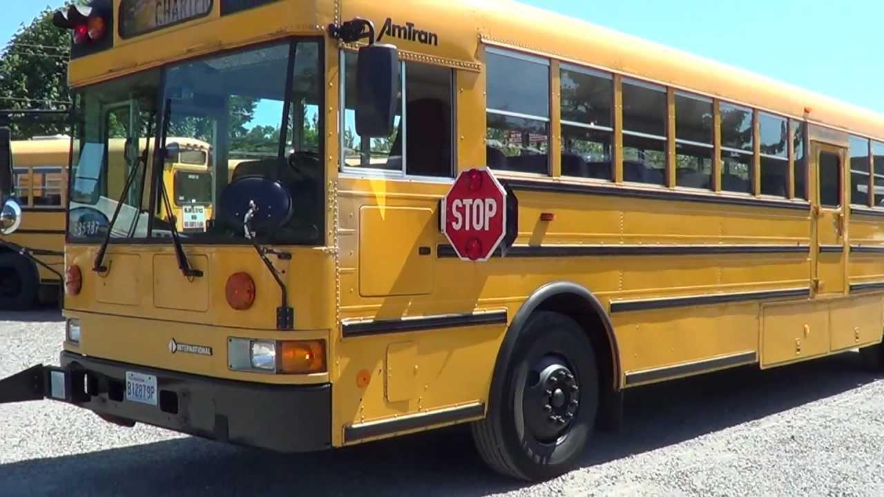 Northwest Bus Sales - 1998 International Amtran Rear Engine School Bus For  Sale - B85987