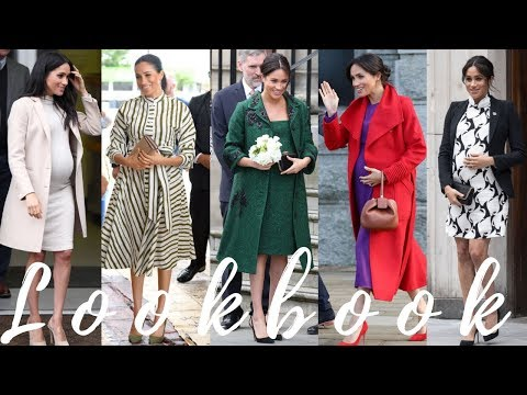 Megan Markle's Maternity Fashion Looks -  Her Best Pregnancy Style Moments!