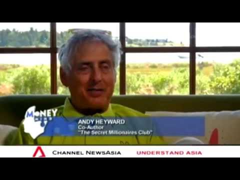 """Money Mind  - Up Close With Andy Heyward """"The Secret Millionaires Club"""" (4 Oct 2014)"""
