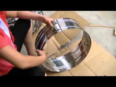 how to assemble Wind Driven Turbine Roof Ventilator