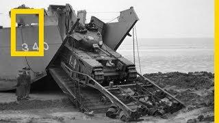 هياكل نازية عملاقة - الحرب الأمريكية: D Day | ناشونال جيوغرافيك أبوظبي