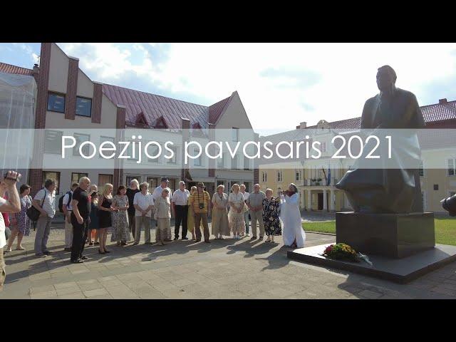 Poezijos pavasaris-2021 Maironio namų sodelyje