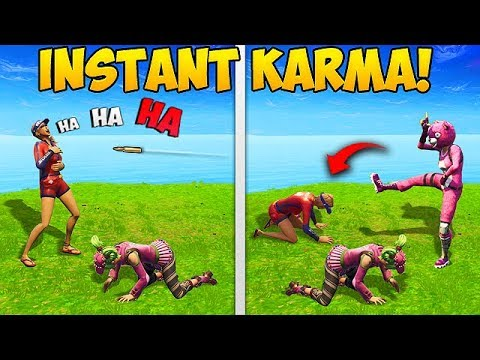 PROOF THAT KARMA IS REAL..! - Fortnite Funny Fails and WTF Moments! #273