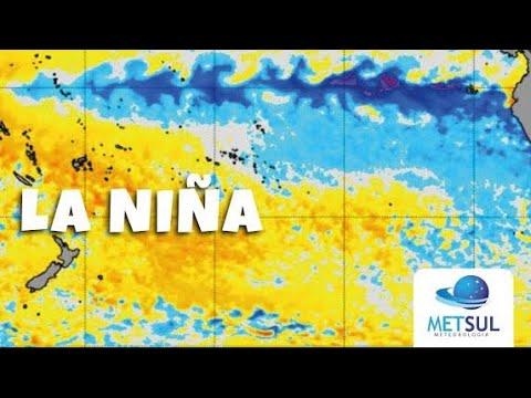 Fenômeno La Niña mais forte no Pacífico | METSUL