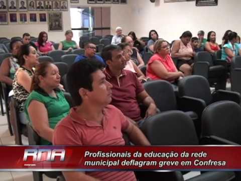 Profissionais da educação da rede municipal deflagram greve em Confresa