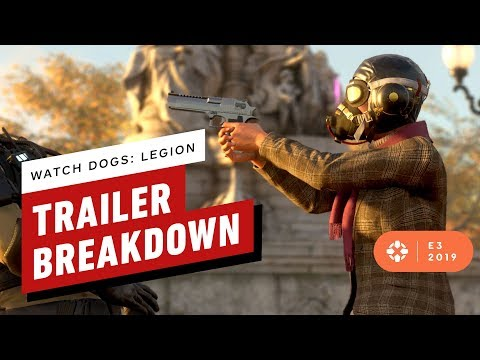 Watch Dogs Legion E3 Reveal Trailer Breakdown - IGN Rewind Theater