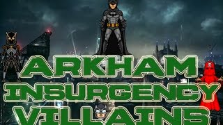 Batman Arkham Insurgency Leaked Villains Part 1