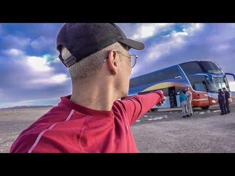 MY LONGEST BUS TRIP IN SOUTH AMERICA -  أطول سفر لي في شاحنة في امريكا الجنوبية