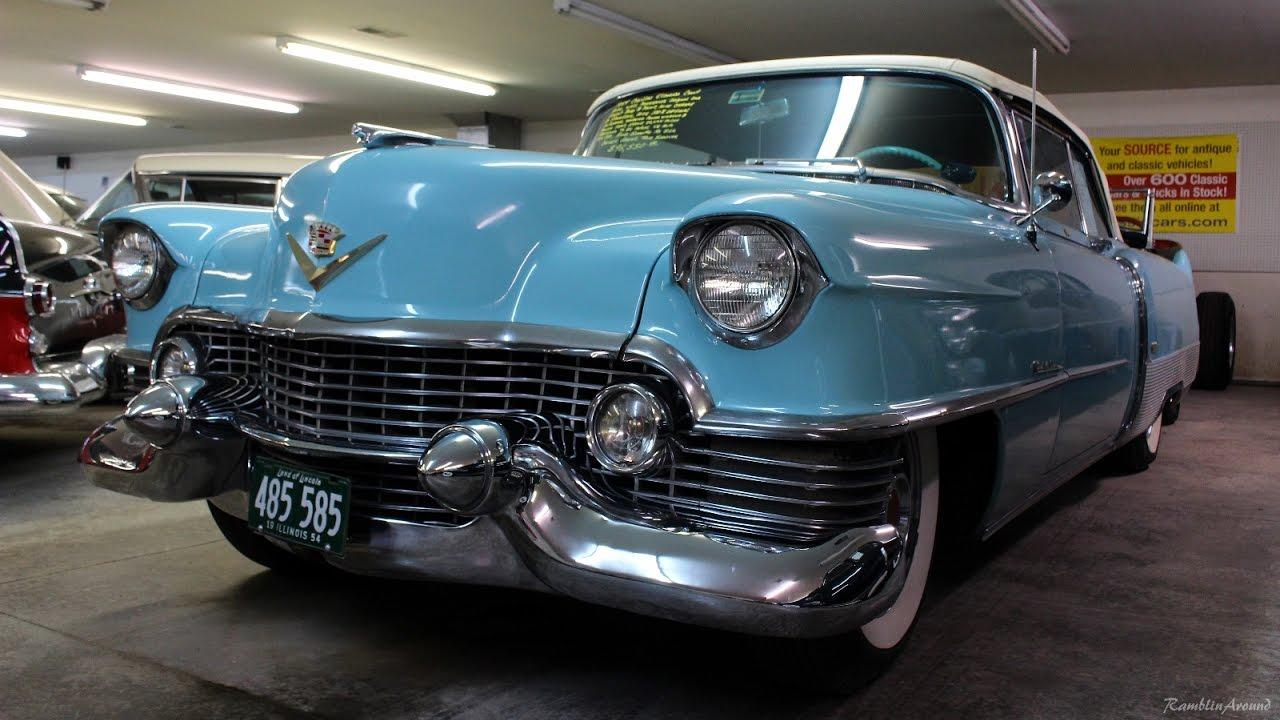 1954 Cadillac Eldorado Convertible - YouTube