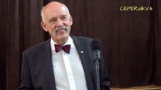 Janusz Korwin-Mikke w Janowcu Wielkopolskim 11.05.2018 (wykład + pytania)